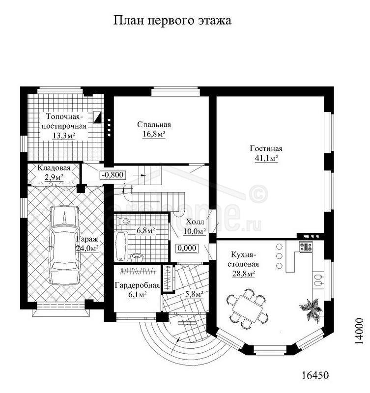 Планы этажей проекта ДОНАЛЬД 1