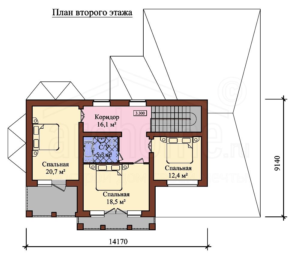Планы этажей проекта ЭДВИН 2