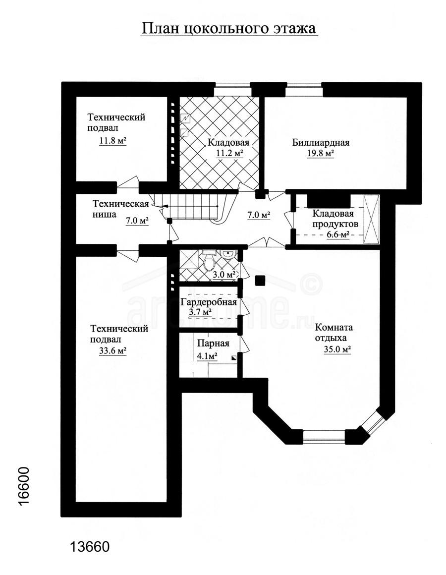 Планы этажей проекта АГАТ-1 3