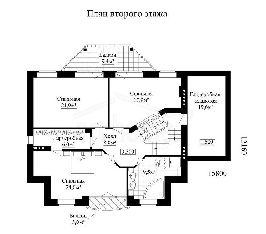 Планы этажей проекта ОБЛОМОВ 3