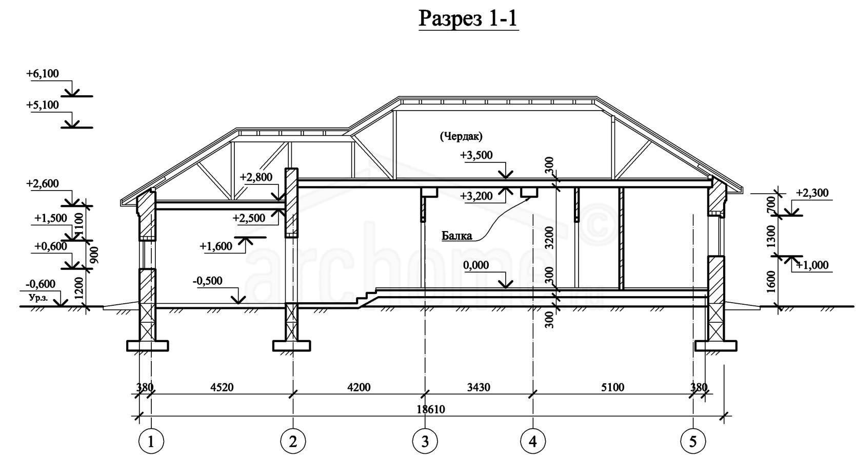 Планы этажей проекта ЭЛЬЗА-4 2