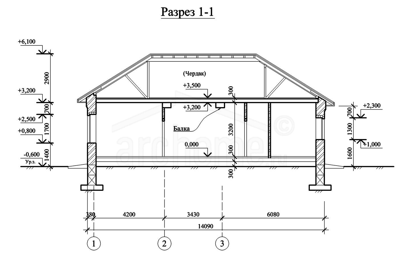 Планы этажей проекта ЭЛЬЗА-1 2