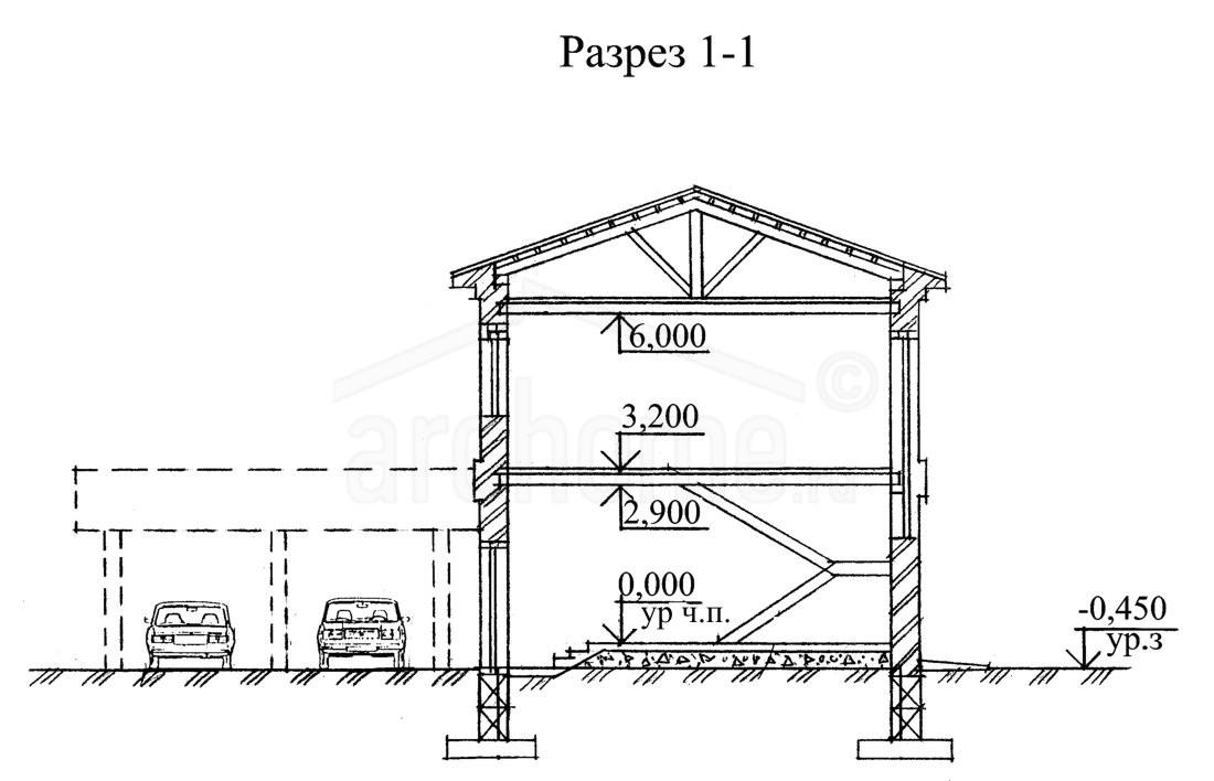 Планы этажей проекта КЛЕР 3