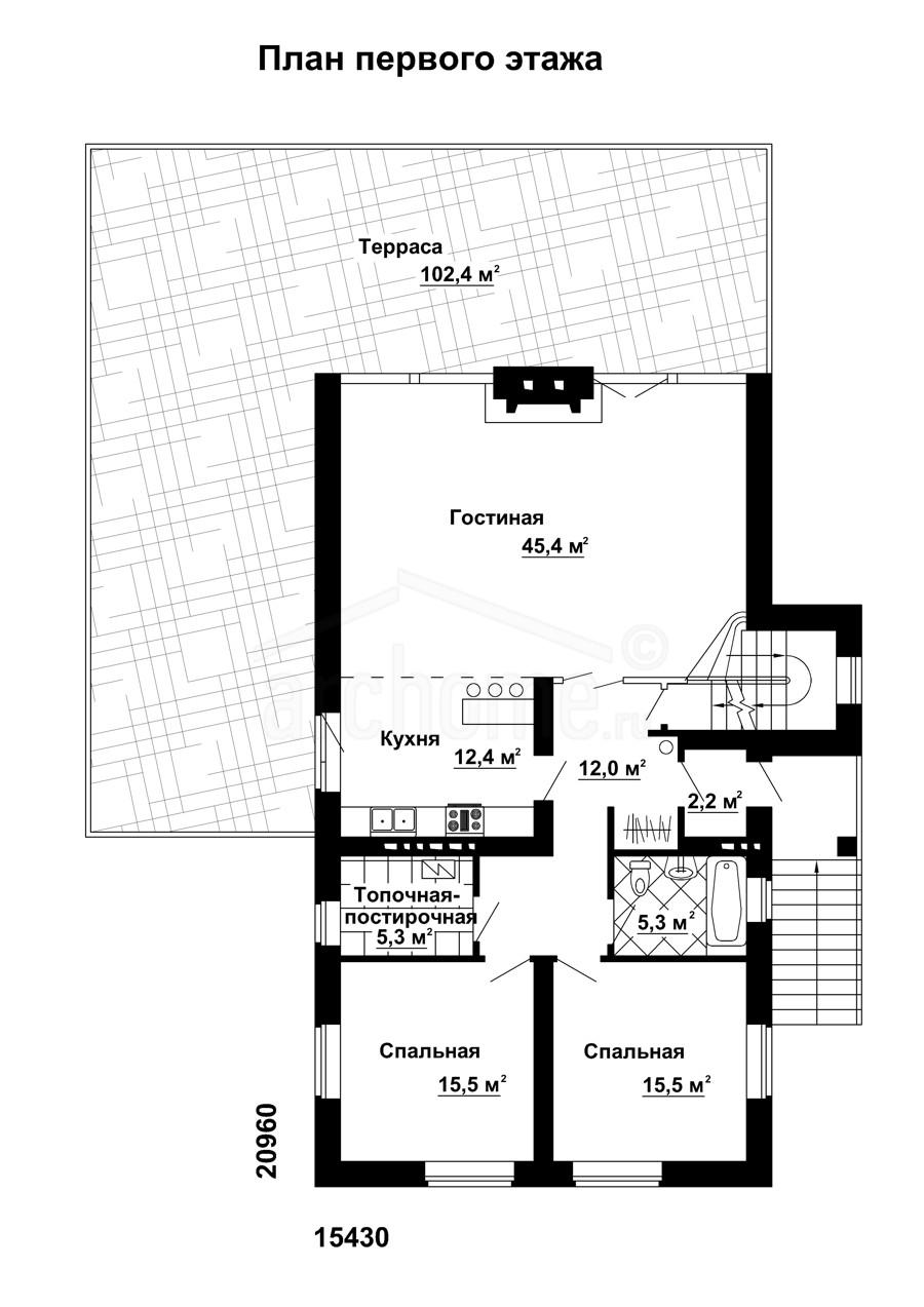 Планы этажей проекта КАСПЕР-2 1