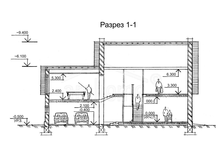 Планы этажей проекта РУБИН-1 3