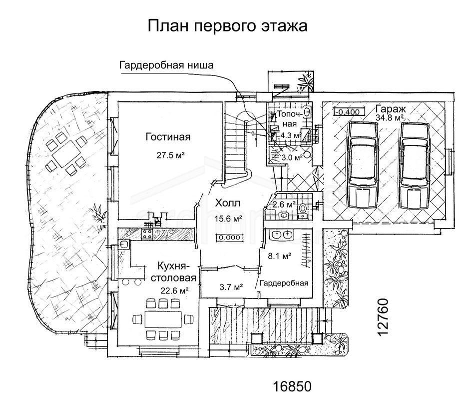 Планы этажей проекта РУБИН 1