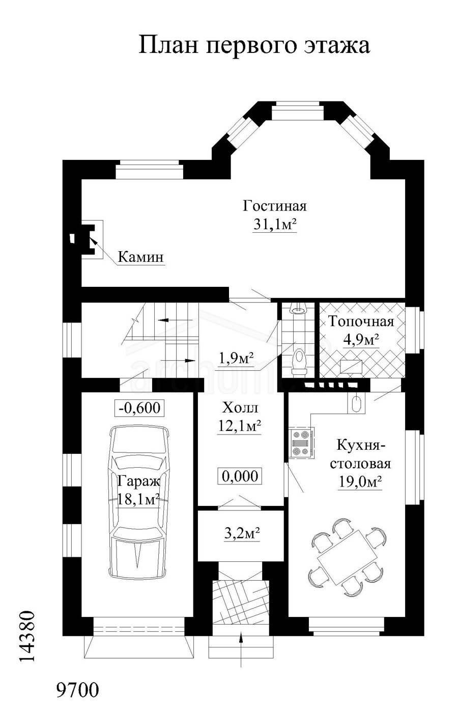 Планы этажей проекта ЭММА 1