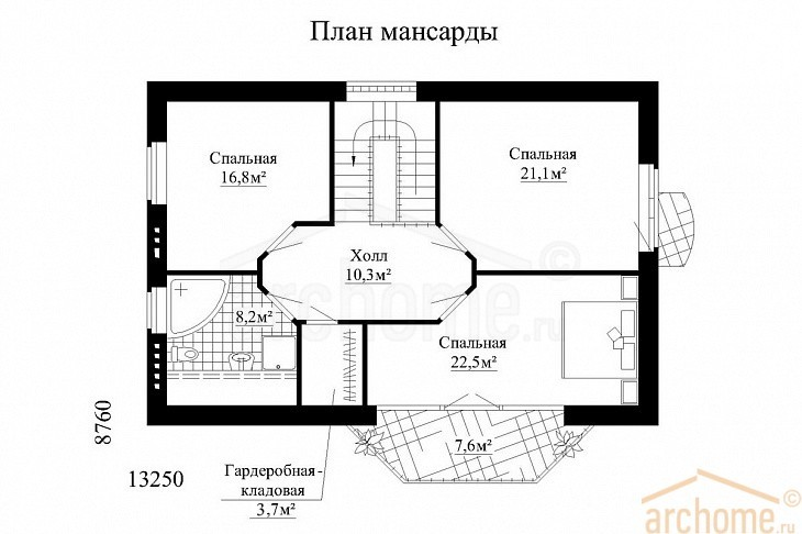 Планы этажей проекта БРИЗ 3