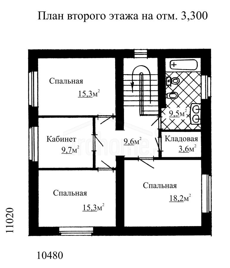 Планы этажей проекта КАРОЛИНА 2