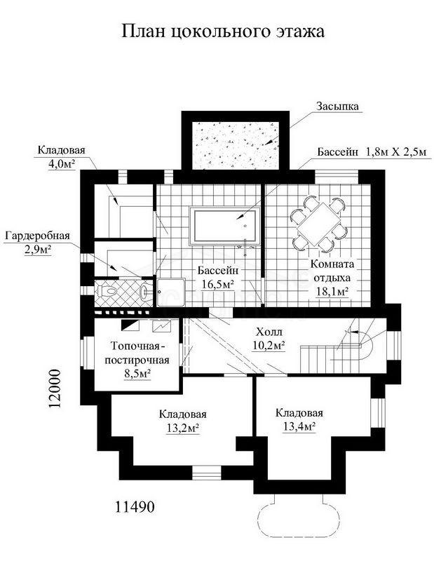 Планы этажей проекта ГУДВИН 1