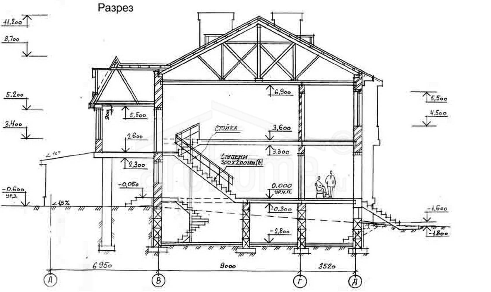 Планы этажей проекта ГАЛИНА 4