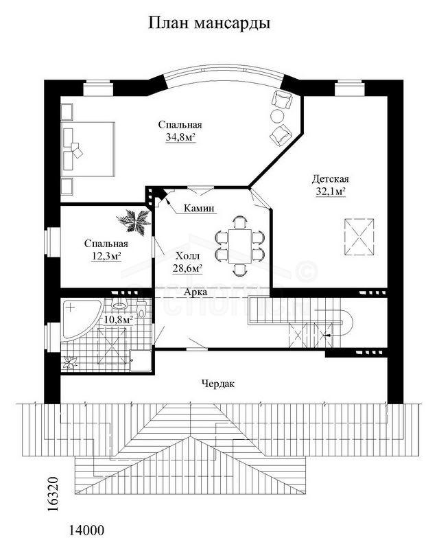 Планы этажей проекта ГАМЛЕТ 2