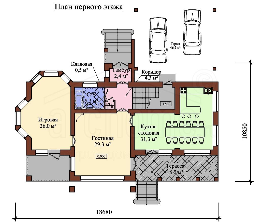 Планы этажей проекта ЭДВИН 1