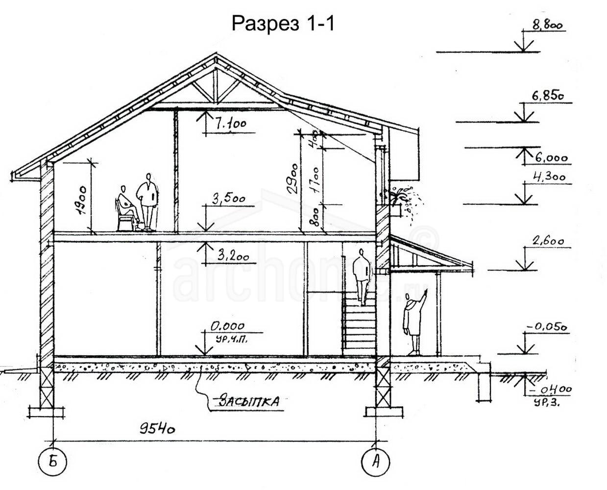 Планы этажей проекта БЕРНАР 3