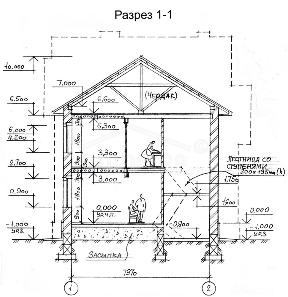 Планы этажей проекта ЛАЙТ 3