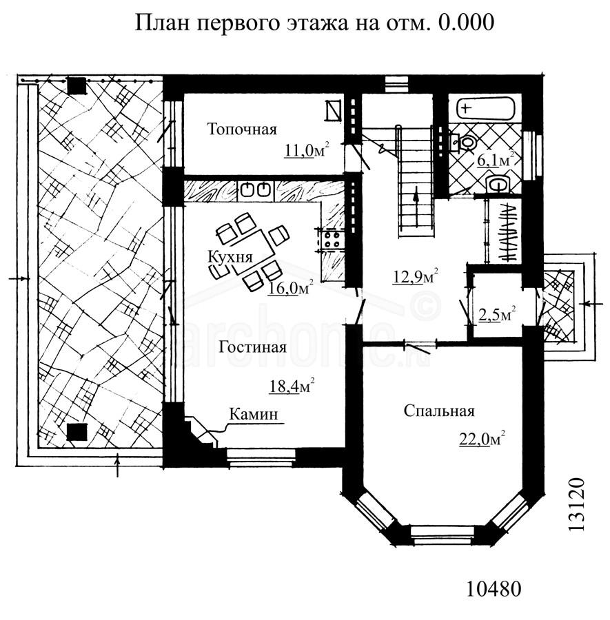Планы этажей проекта КАРОЛИНА 1