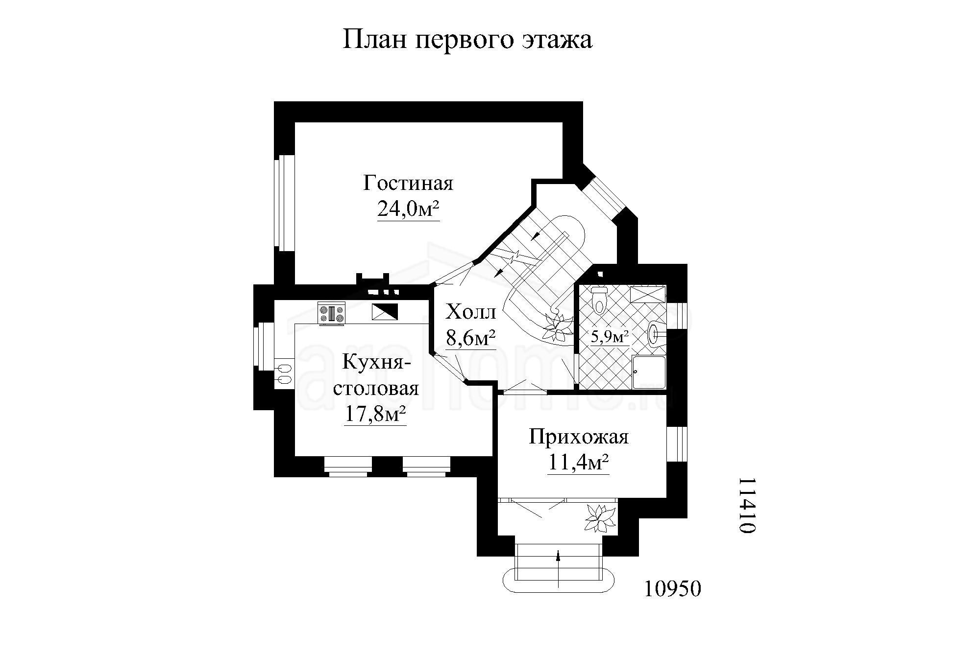 Планы этажей проекта ЛАЙТ 1