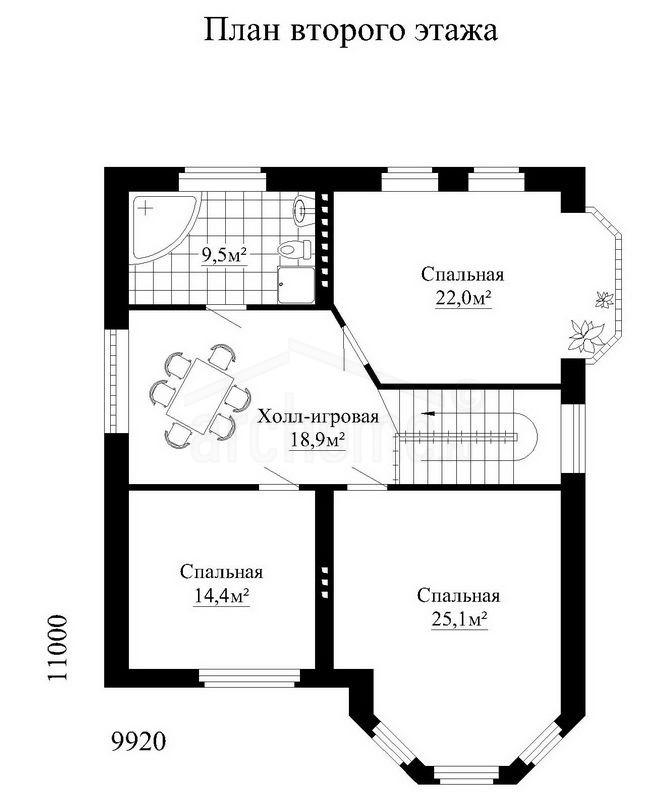 Планы этажей проекта САЛЬВАДОР 3