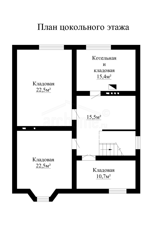 Планы этажей проекта КРОНА 1