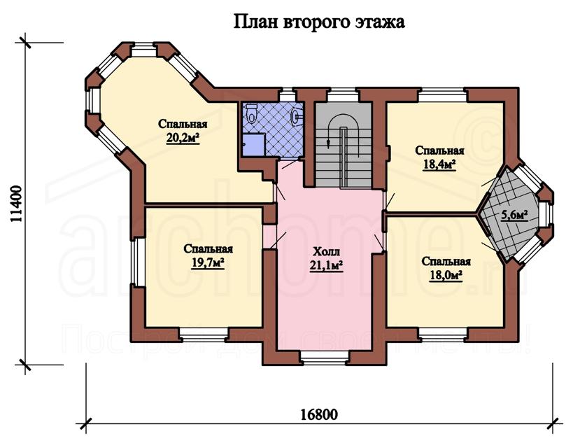 Планы этажей проекта БУТОН 2