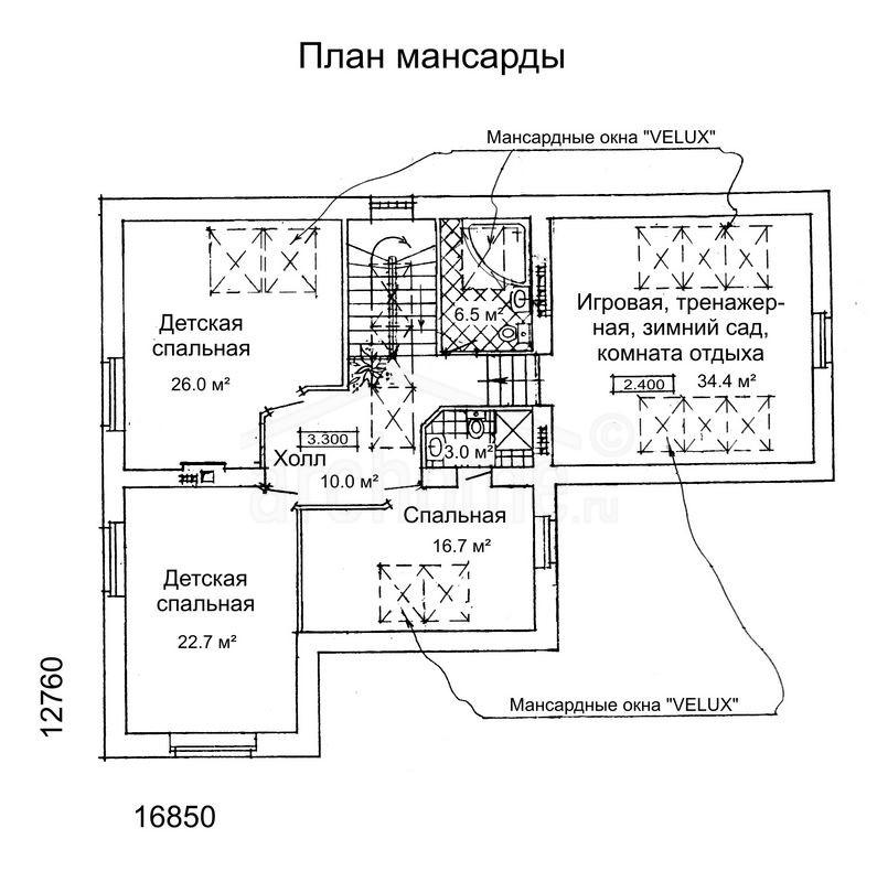 Планы этажей проекта РУБИН 2
