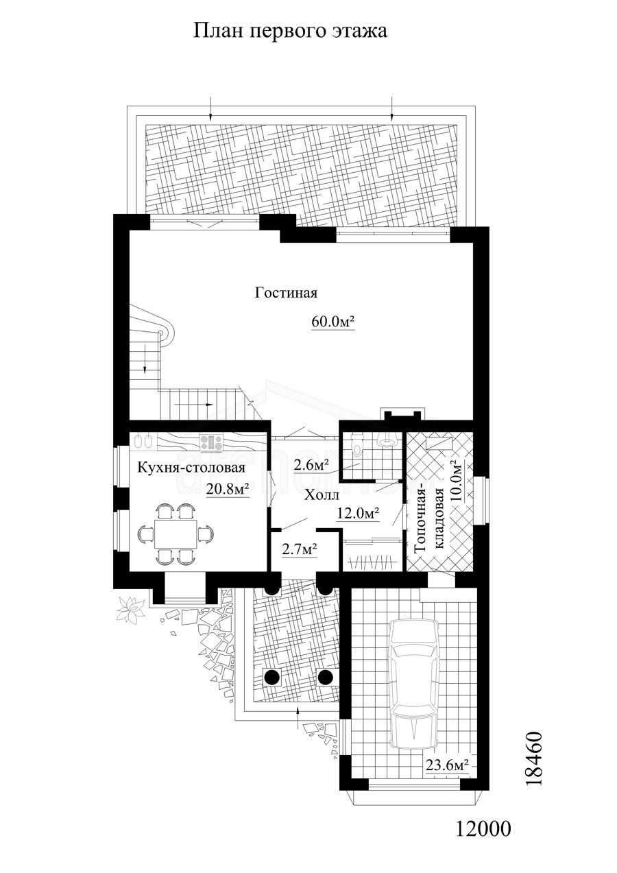 Планы этажей проекта ПАТРИК 1