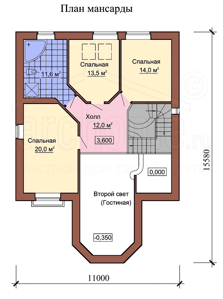 Планы этажей проекта САША 2
