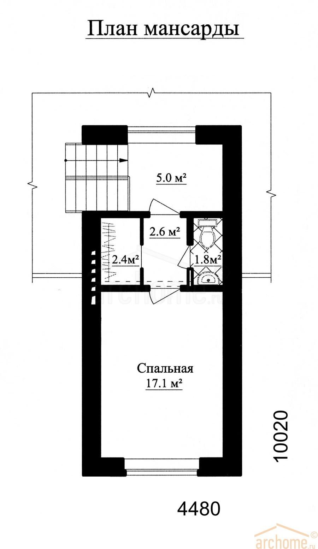 Планы этажей проекта АГАТ 4