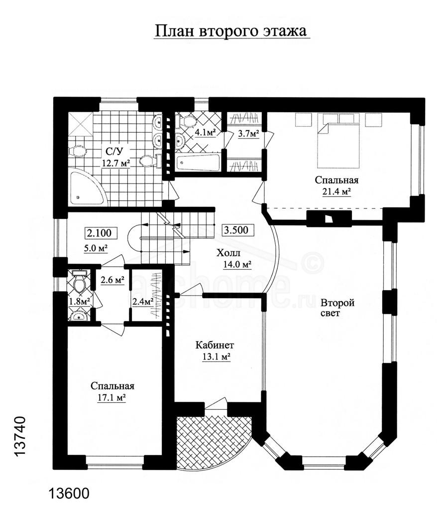 Планы этажей проекта АГАТ-1 2