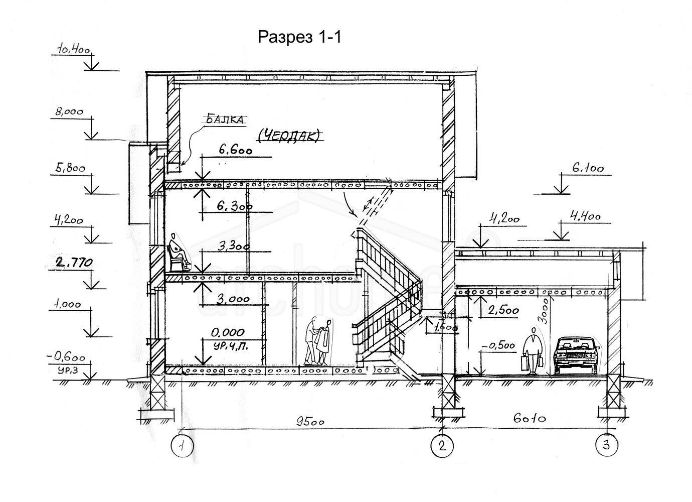 Планы этажей проекта ГУДВИН-1 3