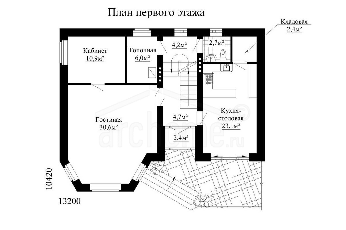 Планы этажей проекта ВАТСОН 1