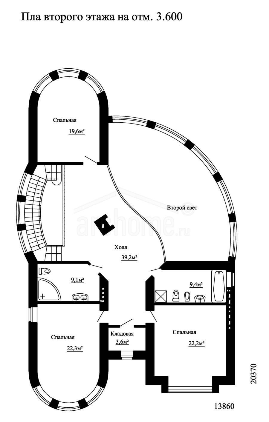 Планы этажей проекта ДЕМИС 2