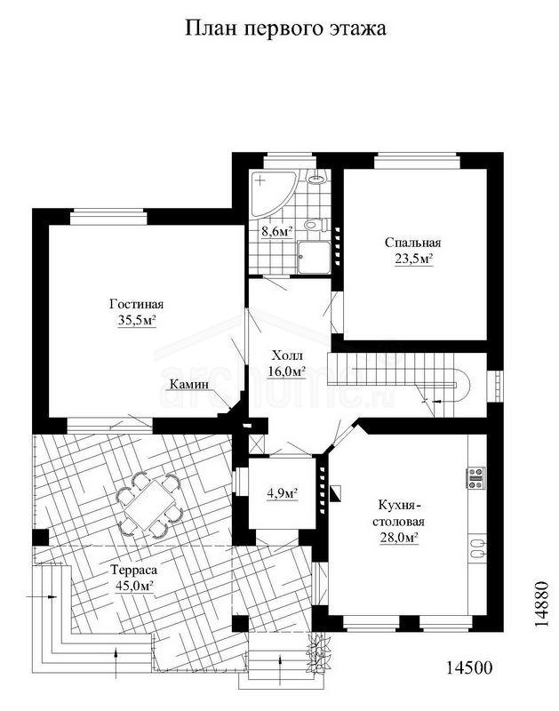 Планы этажей проекта ЛЕДА 1