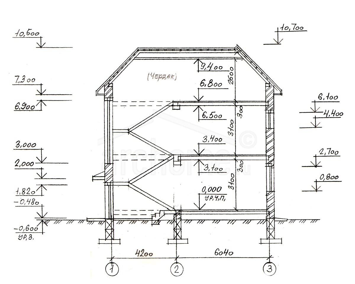 Планы этажей проекта БЕГОНИЯ 3