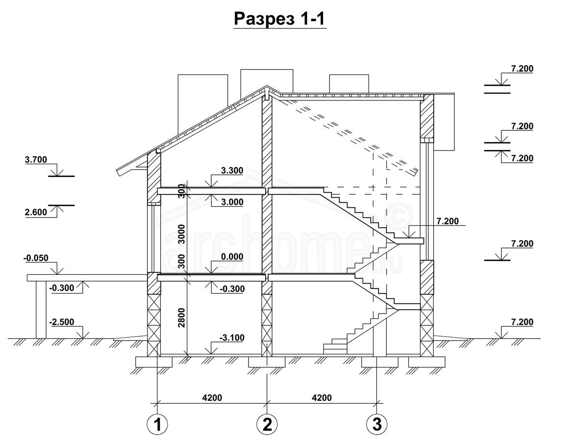 Планы этажей проекта КАСПЕР-2 4