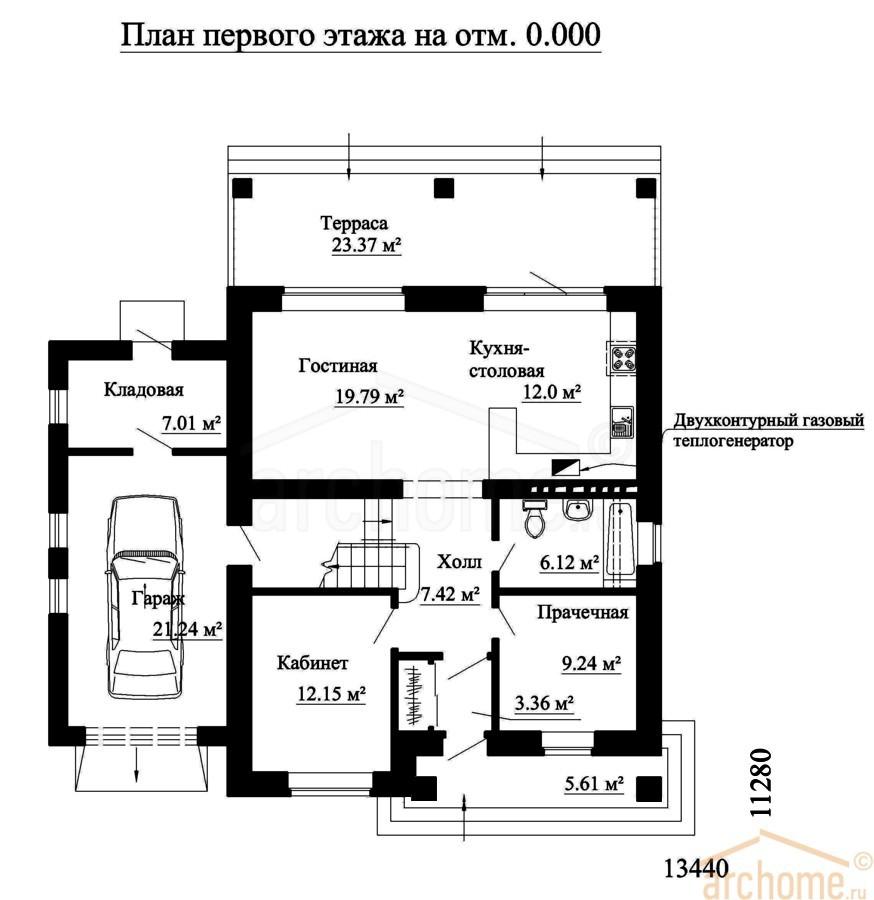 Планы этажей проекта ИРЭН 1