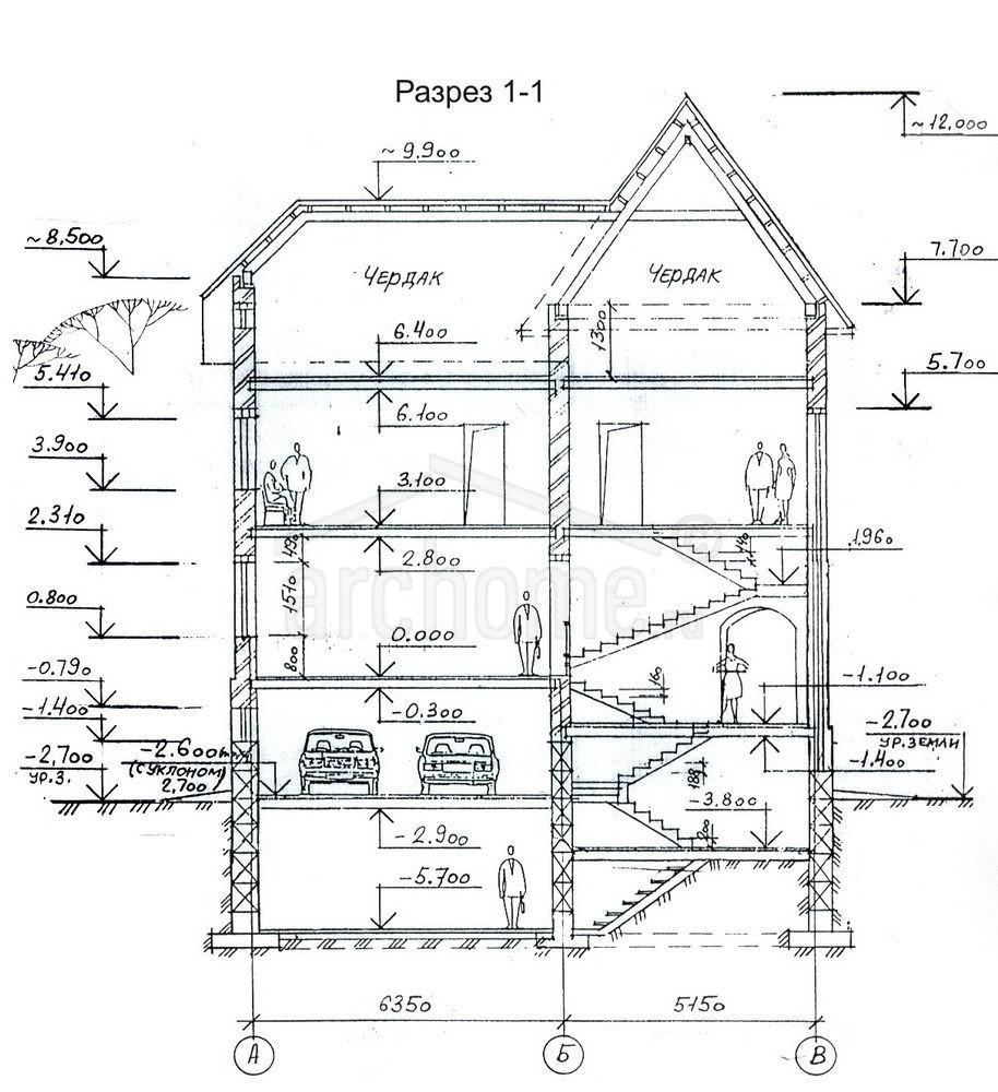 Планы этажей проекта ЭЛВИС 5