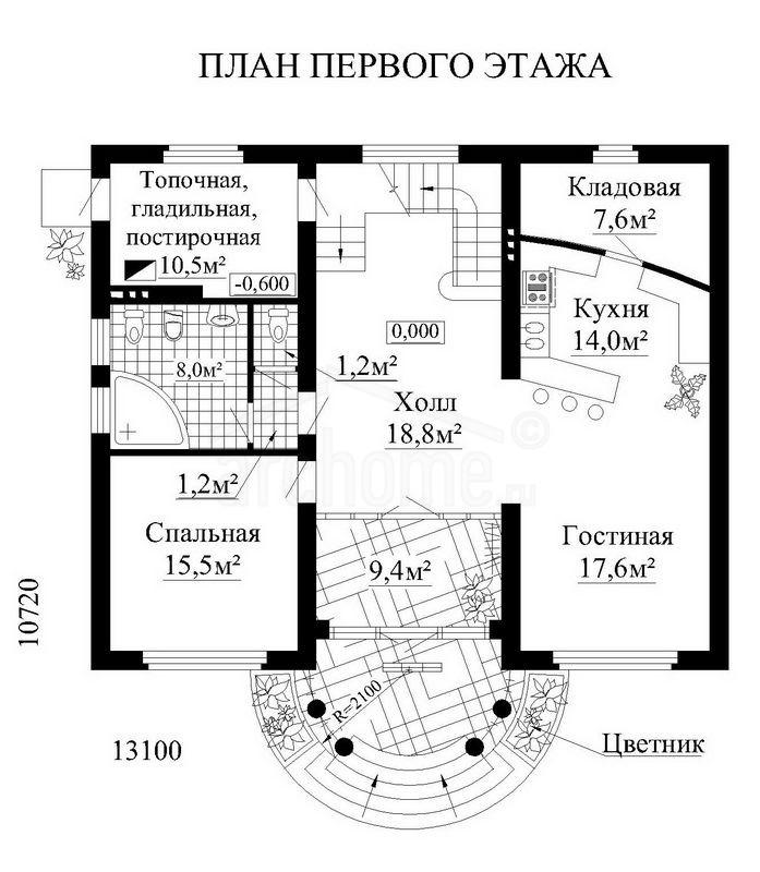 Планы этажей проекта АРАМИС 1
