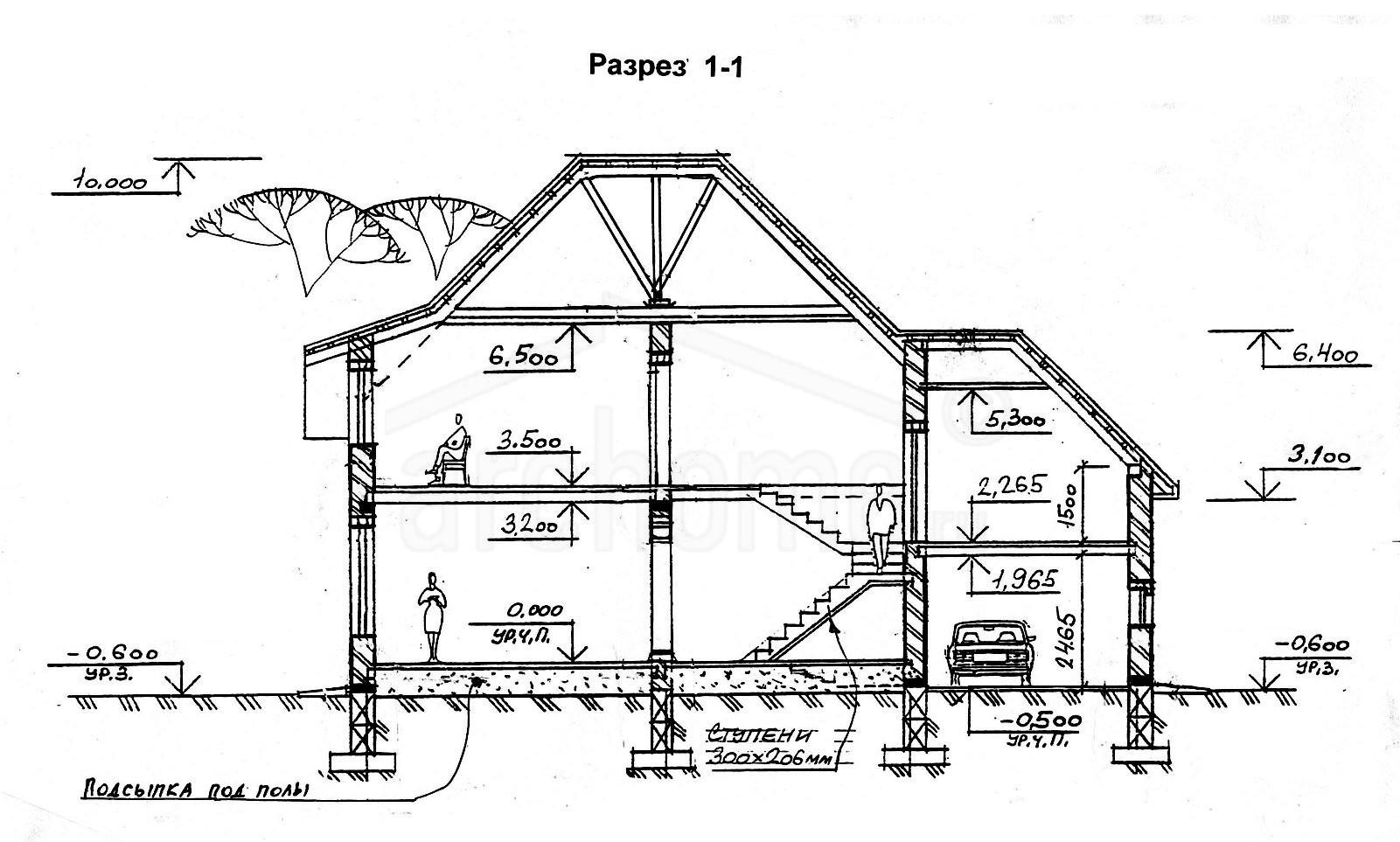 Планы этажей проекта КОНДОР-2 3