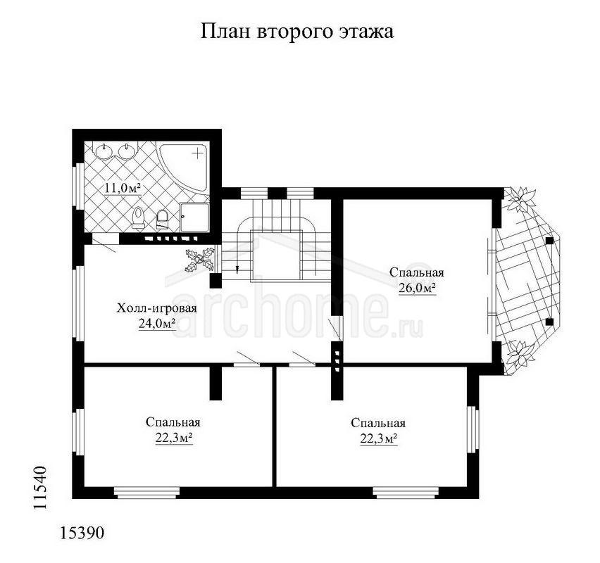 Планы этажей проекта ОНИКС 3