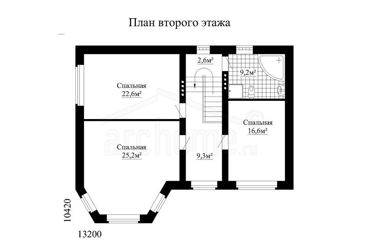 Планы этажей проекта ВАТСОН 2