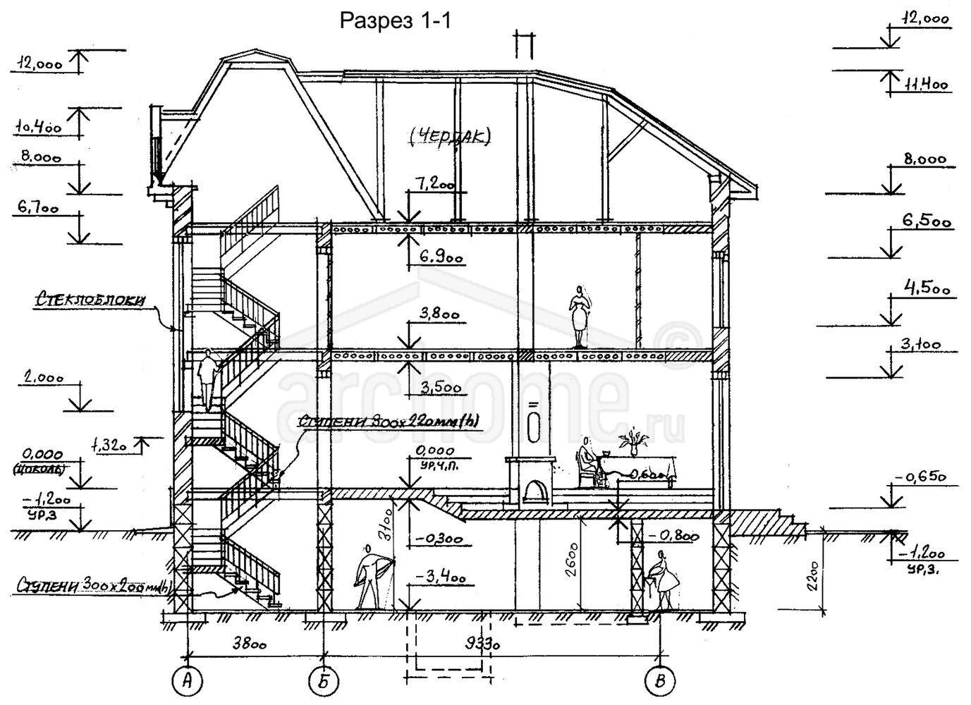 Планы этажей проекта ЧАРДАШ 4