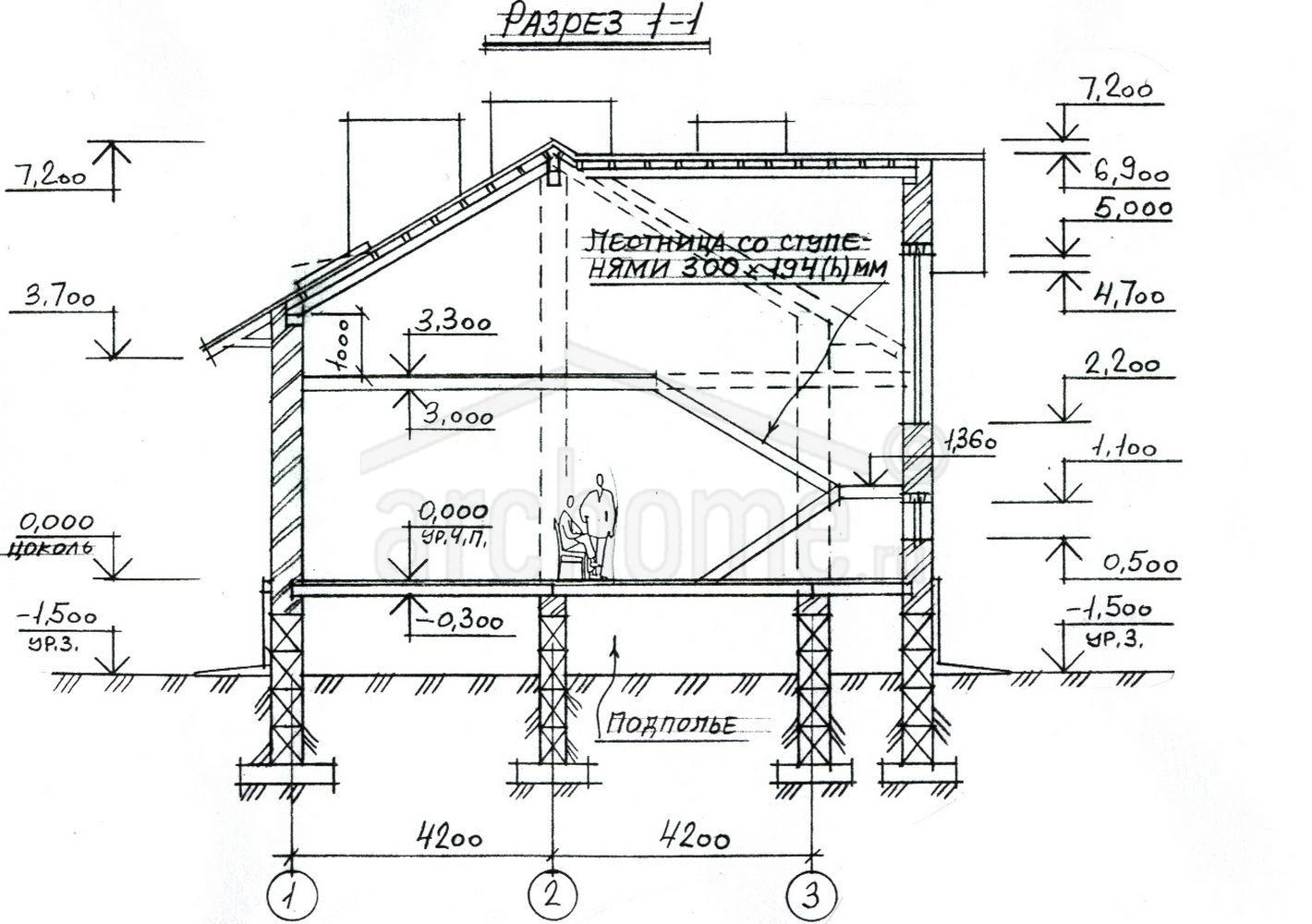 Планы этажей проекта КАСПЕР 3