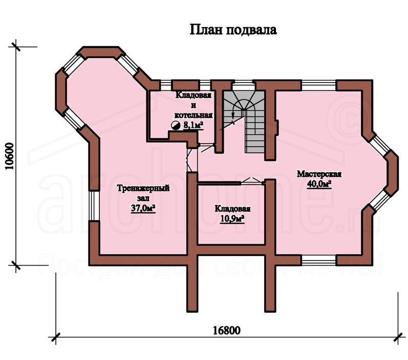 Планы этажей проекта БУТОН 3