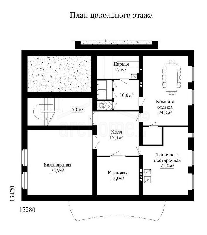 Планы этажей проекта БУРБОН 3