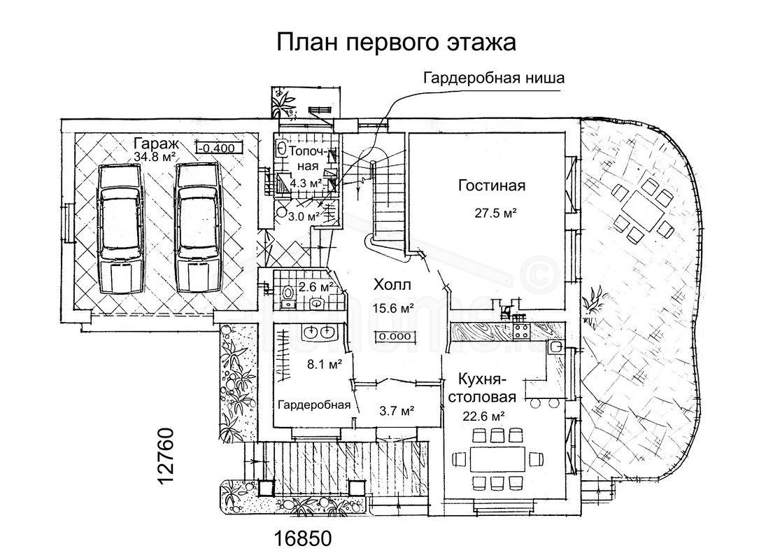 Планы этажей проекта РУБИН-1 1