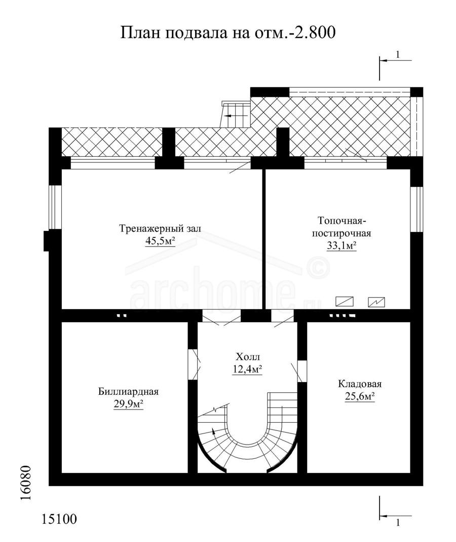Планы этажей проекта ОЛИВЕР 3