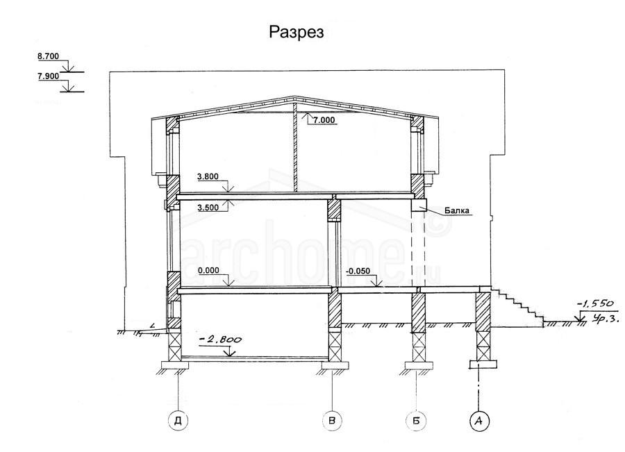 Планы этажей проекта ЛЕДА-1 4