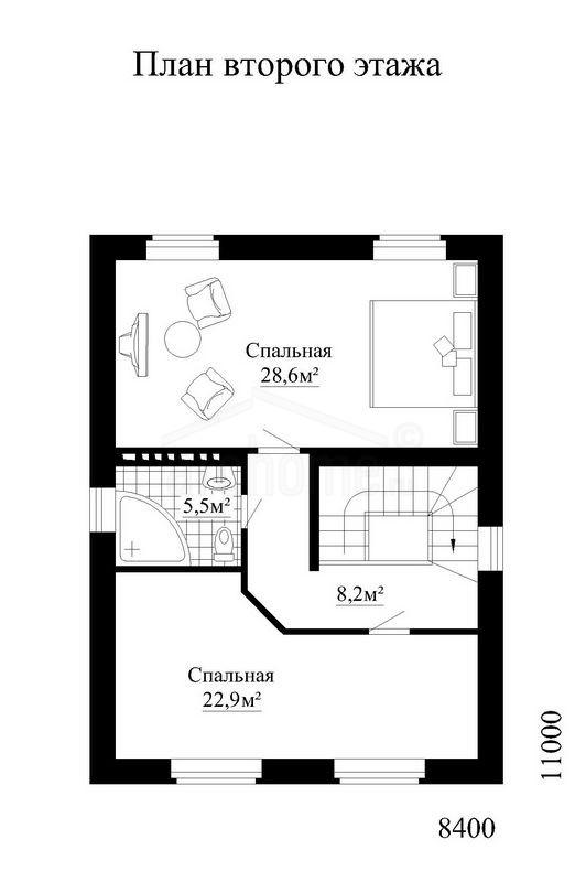 Планы этажей проекта ОХОТНИК-1а 2