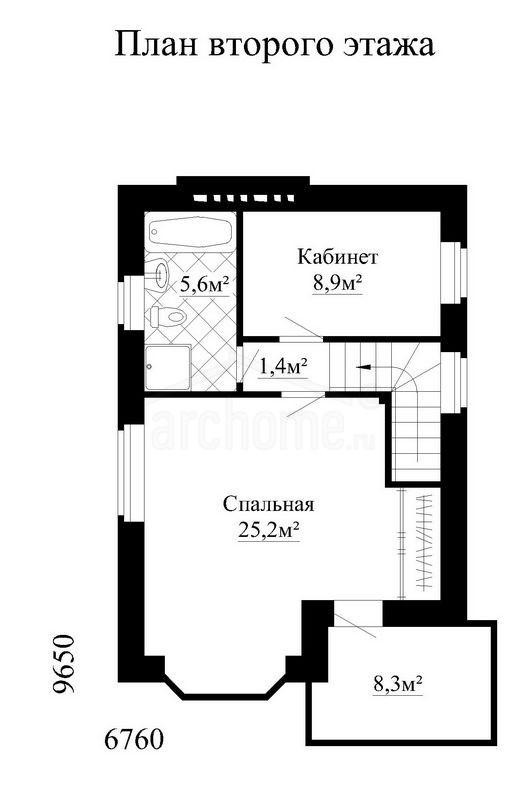 Планы этажей проекта ЛАНДЫШ 2